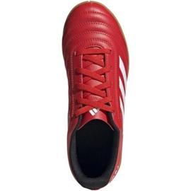 Adidas Copa 20.4 In Jr EF1928 indoorschoenen rood rood 1