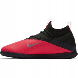 Indoorschoenen Nike Phantom Vsn 2 Club Df Ic Jr CD4072-606 zwart rood 2