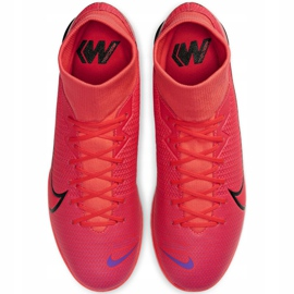 Nike Mercurial Superfly 7 Academy Ic M AT7975-606 indoorschoenen rood rood 1