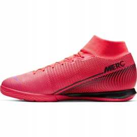 Nike Mercurial Superfly 7 Academy Ic M AT7975-606 indoorschoenen rood rood 4