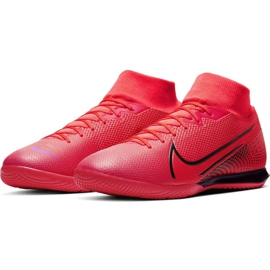 Nike Mercurial Superfly 7 Academy Ic M AT7975-606 indoorschoenen rood rood 5