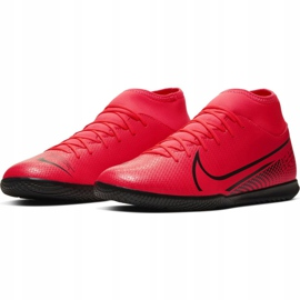 Nike Mercurial Superfly 7 Club Ic M AT7979-606 indoorschoenen rood rood 3