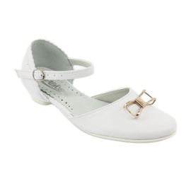 Hoffelijkheid ballerina schoenen Miko 707 wit 1