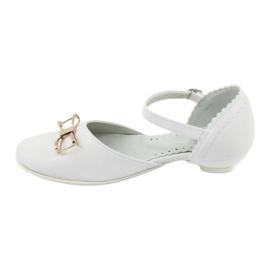Hoffelijkheid ballerina schoenen Miko 707 wit 2