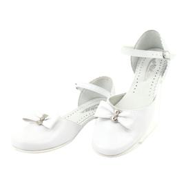 Courtesy ballerinas Communion Miko 671 wit 3