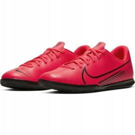 Nike Mercurial Vapor 13 Club Ic Jr AT8169-606 indoorschoenen rood rood 5