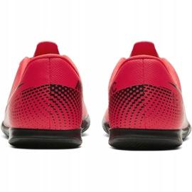 Nike Mercurial Vapor 13 Club Ic Jr AT8169-606 indoorschoenen rood rood 7