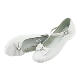 Witte Miko 806 ballerina's grijs 3