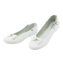 Witte Miko 806 ballerina's grijs 1