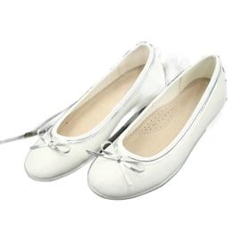Ballerina's met strik, witte parel American Club GC29 / 19 veelkleurig 2