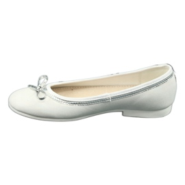 Ballerina's met strik, witte parel American Club GC29 / 19 veelkleurig 1