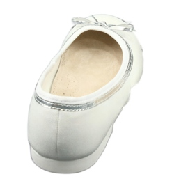 Ballerina's met strik, witte parel American Club GC29 / 19 3
