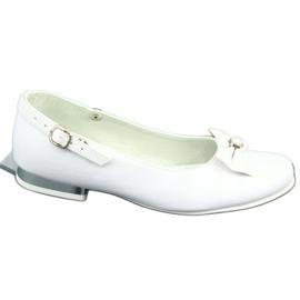 Witte Miko 806 ballerina's grijs 4