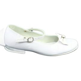 Witte Miko 806 ballerina's grijs 5