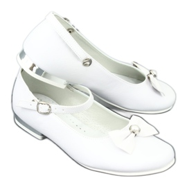 Witte Miko 806 ballerina's grijs 6