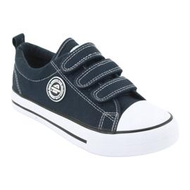 American Club Amerikaanse kindersneakers met klittenband LH33 1