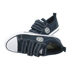 American Club Amerikaanse kindersneakers met klittenband LH33 4