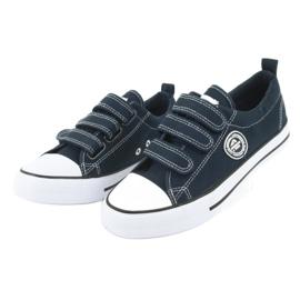 American Club Amerikaanse kindersneakers met klittenband LH33 2