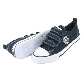 American Club Amerikaanse LH31 marineblauwe sneakers 4