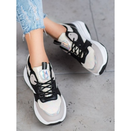 Ideal Shoes Casual platform sneakers 4