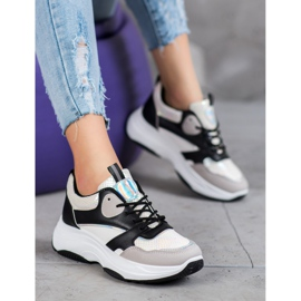 Ideal Shoes Casual platform sneakers 3