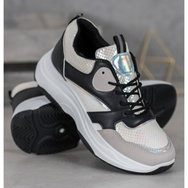 Ideal Shoes Casual platform sneakers 1