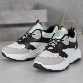 Ideal Shoes Casual platform sneakers 2