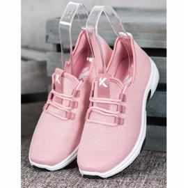 Kylie Klassieke sportschoenen roze 2