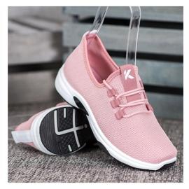 Kylie Klassieke sportschoenen roze 1