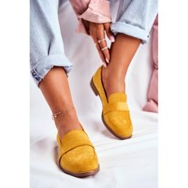SEA Suède gele Cintra-schoenen voor dames geel 2