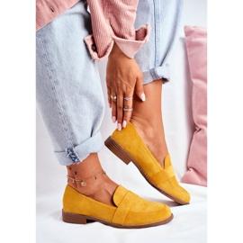SEA Suède gele Cintra-schoenen voor dames geel 1