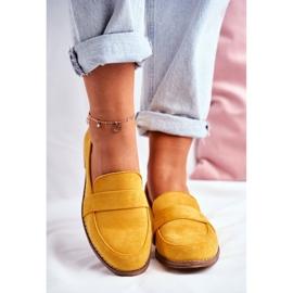 SEA Suède gele Cintra-schoenen voor dames geel 3