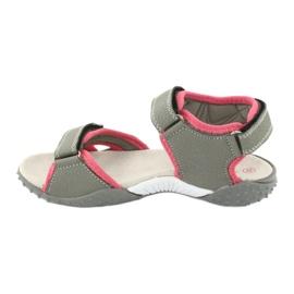 American Club RL26 / 20 grijs / perzik sandalen 1