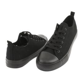 Zwarte American Club LH16 sneakers 4
