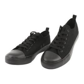 Zwarte American Club LH16 sneakers 3