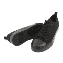 Zwarte American Club LH16 sneakers 5