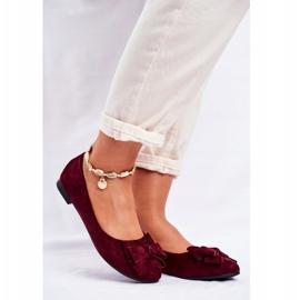 SEA Jordos ballerina's voor dames rood 1