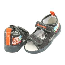American Club Amerikaanse sandalen kinderschoenen leren binnenzool TEN46 3
