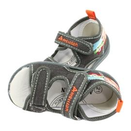 American Club Amerikaanse sandalen kinderschoenen leren binnenzool TEN46 4