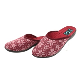 Adanex 25409 velours pantoffels veelkleurig 2