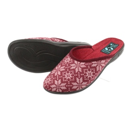 Adanex 25409 velours pantoffels veelkleurig 3