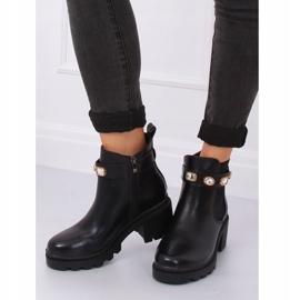 Zwarte Jodhpur-laarzen zwart HE107 zwart 3