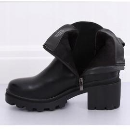 Zwarte Jodhpur-laarzen zwart HE107 zwart 5
