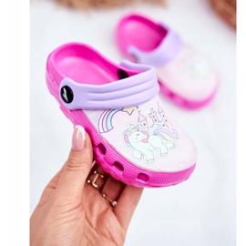 Slippers voor kinderen Foam Crocs Pink Ponies Pony roze 2