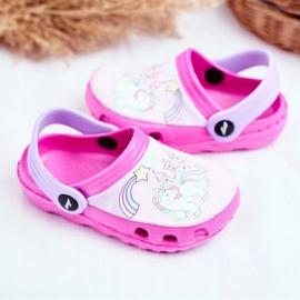 Slippers voor kinderen Foam Crocs Pink Ponies Pony roze 3