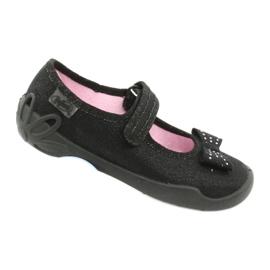 Befado schoenen voor kinderen schoenen ballerina 114x240 zwart zilver 5