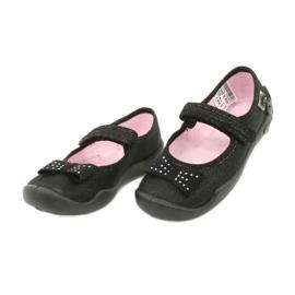 Befado schoenen voor kinderen schoenen ballerina 114x240 zwart zilver 2
