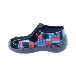 Befado kinderschoenen 190P095 rood marineblauw blauw 2