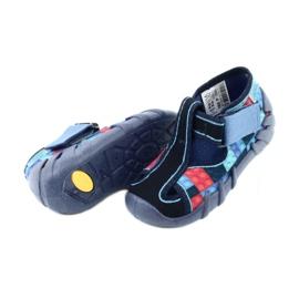 Befado kinderschoenen 190P095 rood marineblauw blauw 4