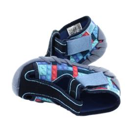 Befado kinderschoenen 190P095 rood marineblauw blauw 5